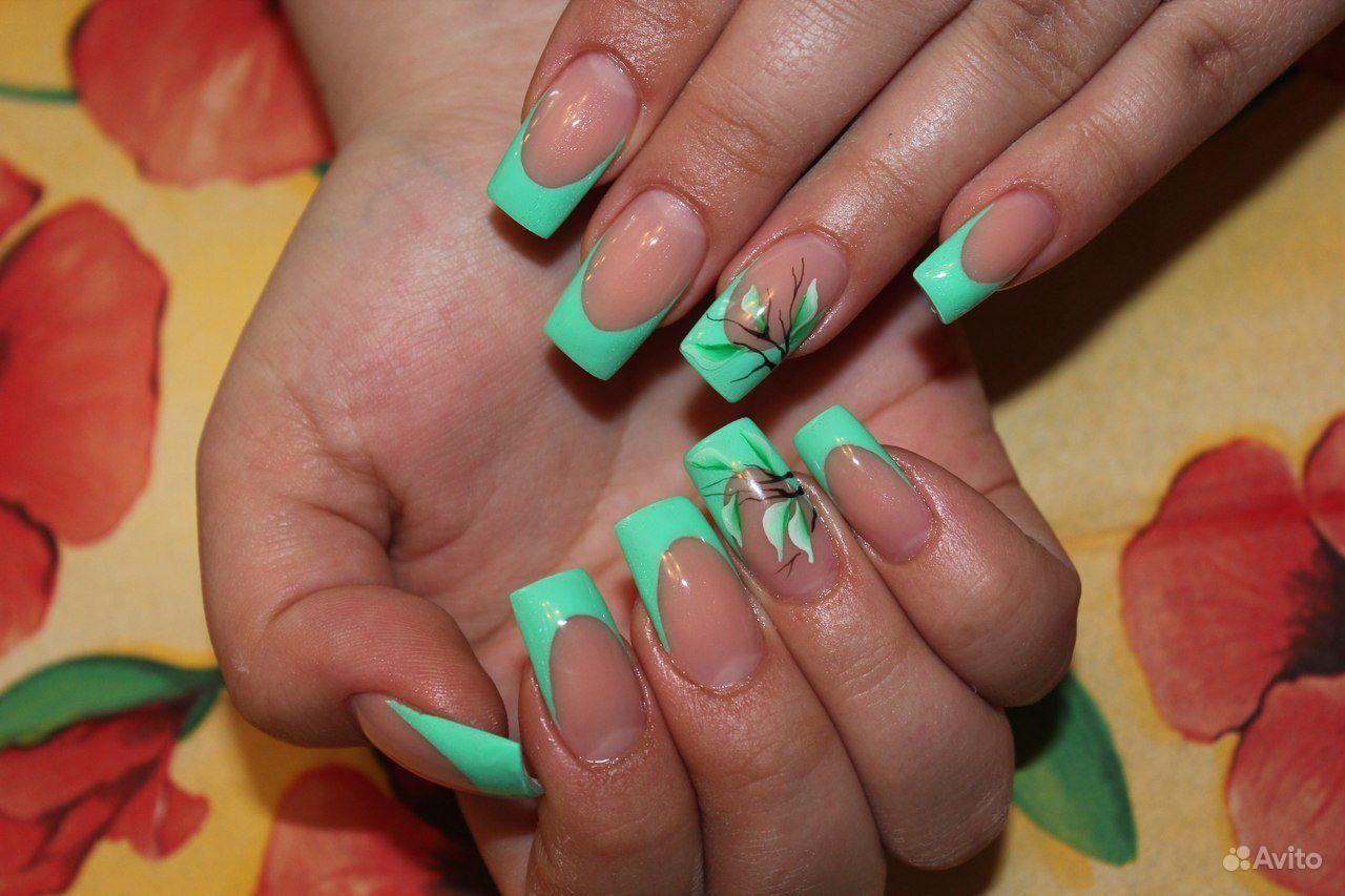 Самые лучшие ногти гель