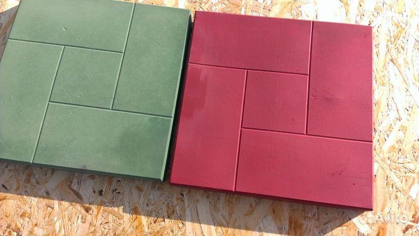 Окраска тротуарной плитки своими руками 9