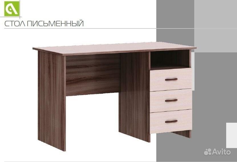 Стол письменный-3400 рублей!новая мебель от фабрики!доставка.