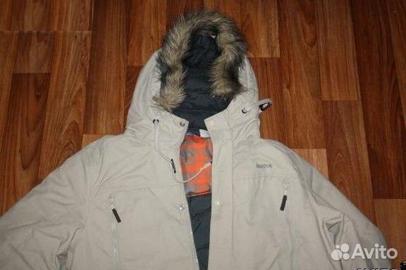 Купить Зимнюю Мужскую Куртку Рибок На Авито