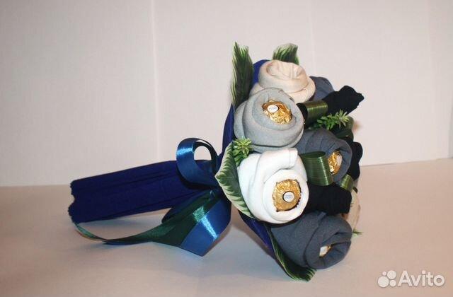 Подарок из мужских носков своими руками мастер класс 81