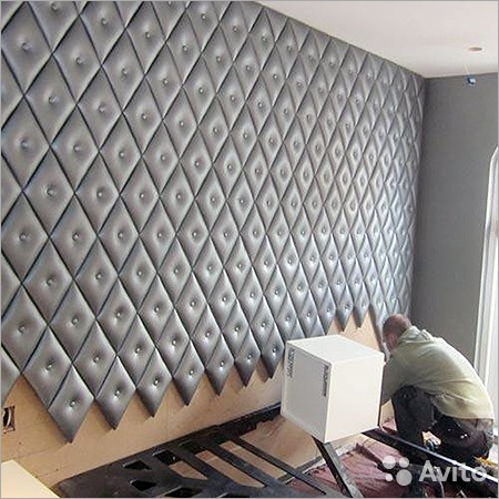 Стеновая мягкая панель своими руками