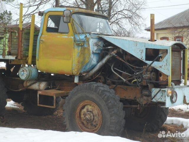 Самодельный трактор зил 131