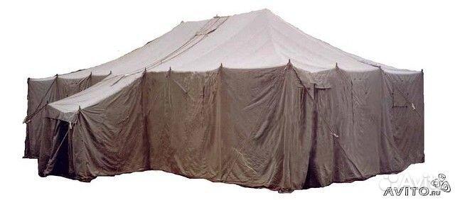 Палатка брезентовая пмх (вместимость-120 чел) .