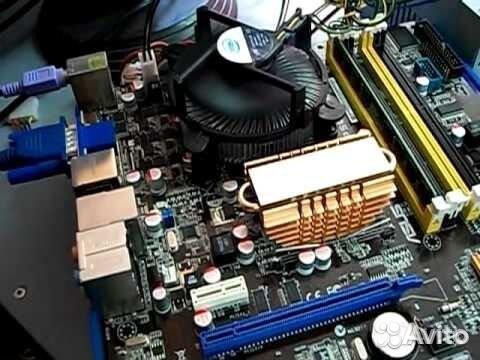 Материнская плата asus p5ql-em - microatx socket lga775 intel g43 ddr2