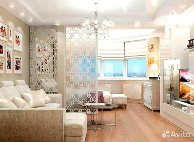 Дизайн эркерной квартиры