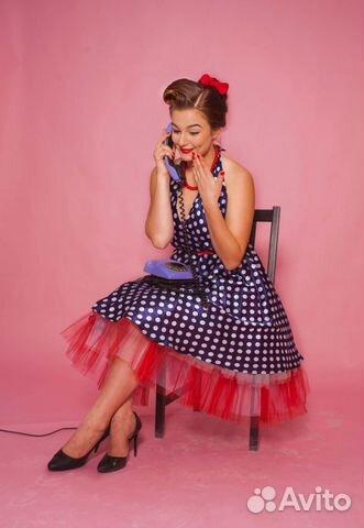 платье пин ап прокат в спб телефоны, часы