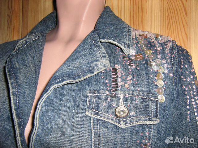 Декорировать джинсовый пиджак стразами своими руками 22