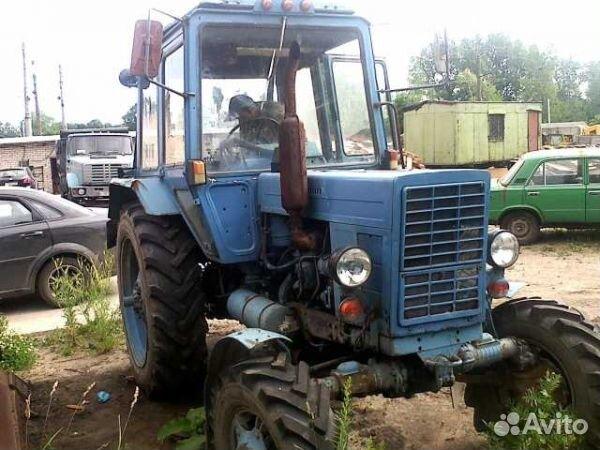 Новые трактора Беларус МТЗ 82 и МТЗ 82 1