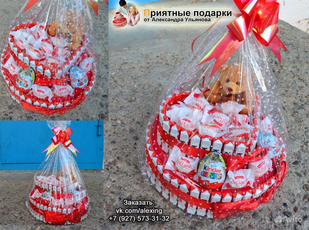 Сладкие подарки на день святого валентина - e27d