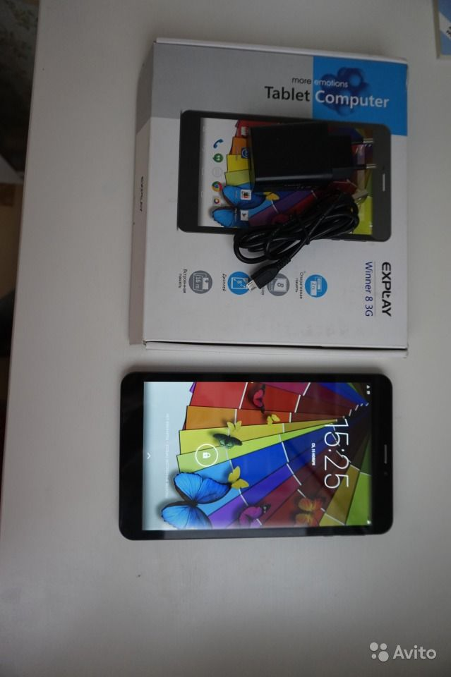 "Explay Winner 8 3G 2Gb 16Gb, 8"" IPS 8 ядер"