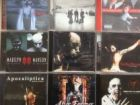 CD metal, doom, sympho, gothic, industrial