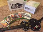 Xbox 360 Go Pro 60 gb 8 игр DJ Hero Guitar Hero