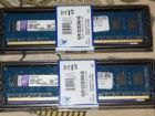DDR3/DDR4 Kingston 2/4/8Gb