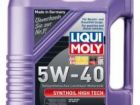 Моторное масло liqui moly 5w40 synthoil high tech