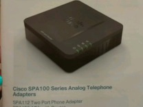 Адаптер Cisco SPA 100 Analog Telephone
