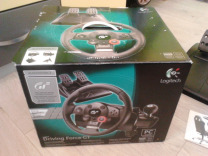 Продам руль Logitech Driving Force GT