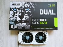 Видеокарта Asus GeForce GTX 1070