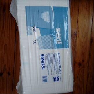 Подгузники для взрослых Seni. Размер 4 (large)