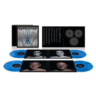 Винил Rammstein - paris (4 LP+2 CD+BR)