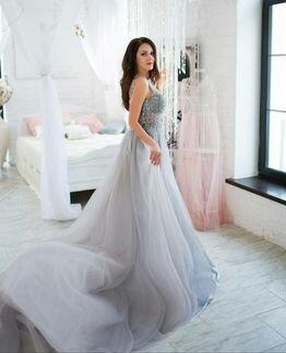Аренда прокат вечернего платья в пол объявление продам