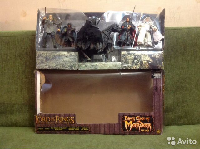 Lord of the rings Black gate of Mordor gift pack— фотография №1