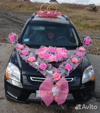 Свадебные украшения на машину в барнауле