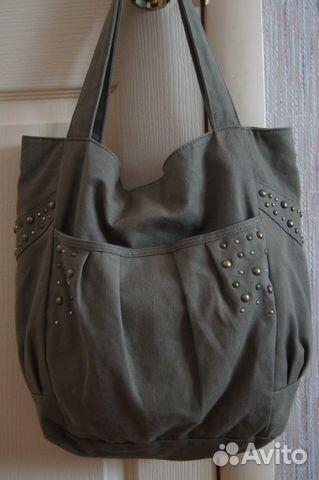 bcda02e12aaf Стильная летняя сумка (лён) купить в Брянской области на Avito ...