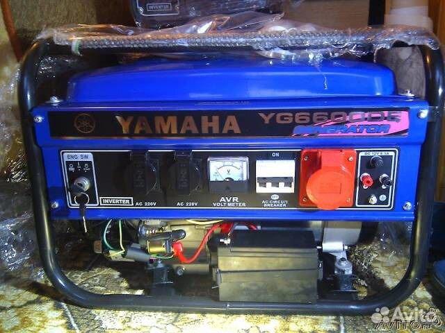 Генераторы бензиновые yamaha ef 6600 сварочный аппарат а 580