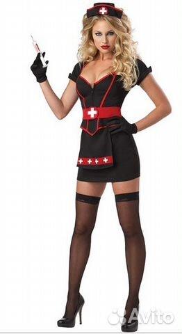 мулатка в костюме медсестры фото