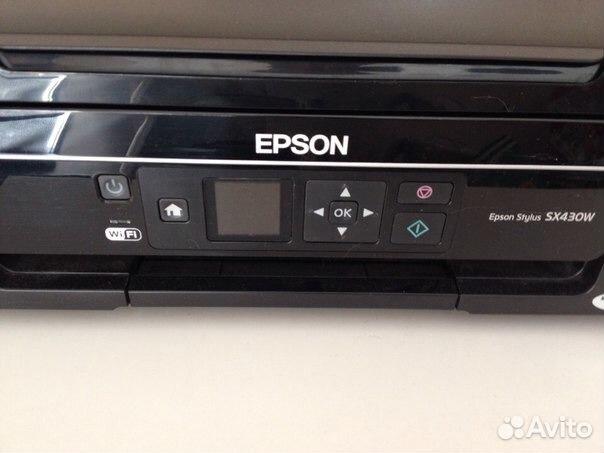драйвера для принтора epson stylus sx430w
