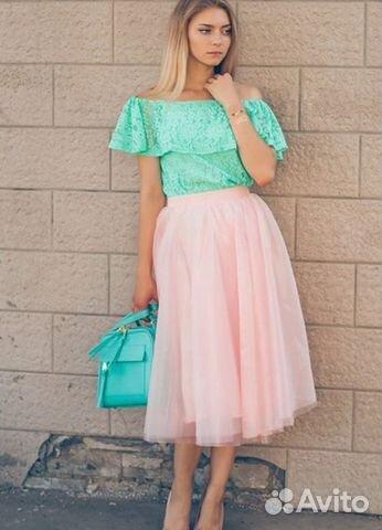 Платья с юбками пачками фото