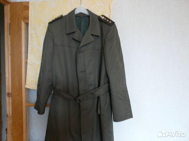 Плащ-пальто военное 54 4 купить в Москве на Avito — Объявления на ... 64264840e722c