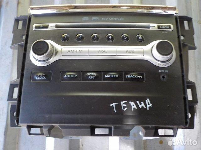 Штатная магнитола teana j32