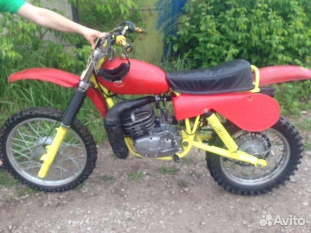 кроссовый мотоцикл чезет 250 #1