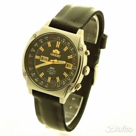 Часы оригинал orient sk crystal 21 jewels