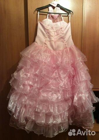 Нарядные платья для девочек на авито