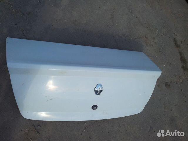 Ремонт багажника на рено логан