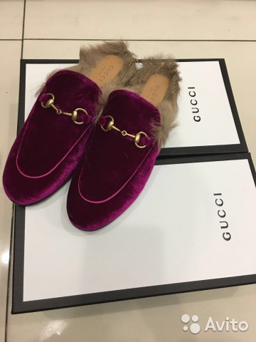 Обувь гуччи с мехом юбка шотландка женская купить