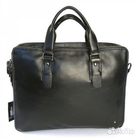 2f88c916ac0e Мужская кожаная сумка портфель Montblanc ноутбук15 купить в Москве ...
