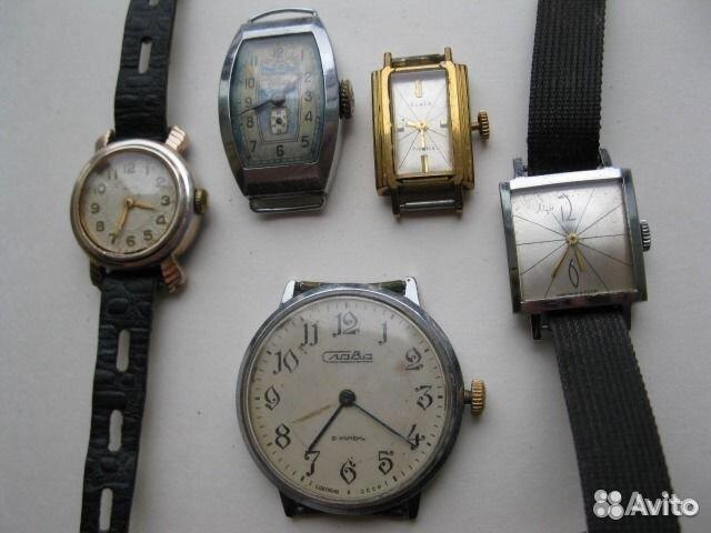 3722502bea71b СССР часы не на ходу + коробочки для часов купить в Москве на Avito ...