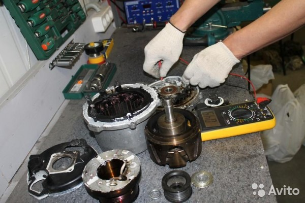 ремонт генераторов и стартеров мерседес в казани грузовые