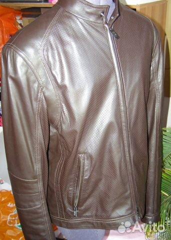81ffe3ca8e27 Armani Collezioni, новая кожаная куртка, оригинал купить в Москве на ...