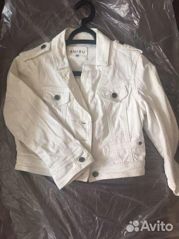 Куртка джинсовая почтой
