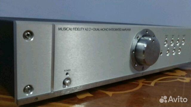 Musical fidelity amplifier A 3. 2— фотография №1