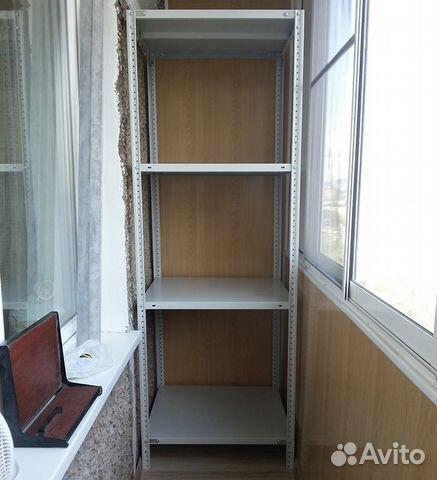 Стеллаж балконный 1900х500х500 (60) купить в москве на avito.