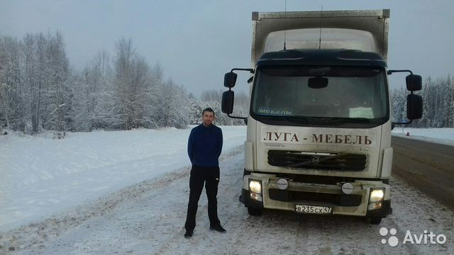 Работа в ленинградской области водителем