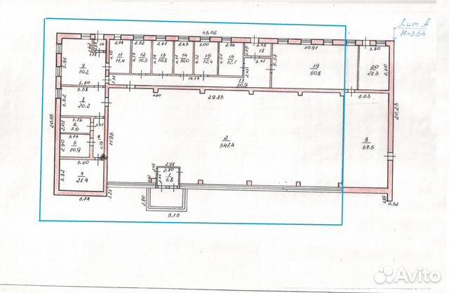 Торговое помещение, 600 м² 89083270020 купить 3