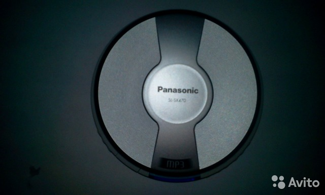 CD-MP3 Panasonic SL-SX470