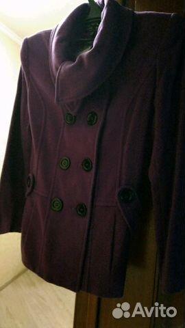 59c7ef893a7 Демисезонное пальто б у 46 размер купить в Москве на Avito ...